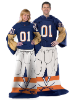 NCAA Virginia Cavaliers Uniform Huddler Blanket With Sleeves