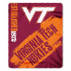 NCAA Virginia Tech Hokies 50x60 Fleece Throw Blanket