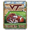 NCAA Virginia Tech Hokies Home Field Advantage 48x60 Tapestry Throw