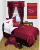 NCAA Virginia Tech Hokies Comforter - Locker Room Series