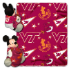 NCAA Virginia Tech Hokies Disney Mickey Mouse Hugger