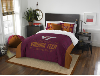 NCAA Virginia Tech Hokies QUEEN Comforter and 2 Shams
