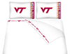 NCAA Virginia Tech Hokies Micro Fiber Bed Sheets
