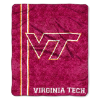 NCAA Virginia Tech Hokies Sherpa 50x60 Throw Blanket
