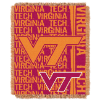 NCAA Virginia Tech Hokies FOCUS 48x60 Triple Woven Jacquard Throw