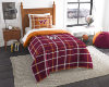 NCAA Virginia Tech Hokies Twin Comforter with Sham