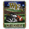 NCAA Wake Forest Demon Deacons Home Field Advantage 48x60 Tapestry Throw
