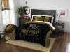 NCAA Wake Forest Demon Deacons QUEEN Comforter and 2 Shams