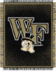 NCAA Wake Forest Demon Deacons FOCUS 48x60 Triple Woven Jacquard Throw