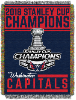 NHL Washington Capitals 2018 Stanley Cup Champions Commemorative Tapestry
