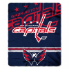 NHL Washington Capitals 50x60 Fleece Throw Blanket