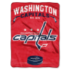 NHL Washington Capitals 60x80 Super Plush Throw Blanket