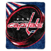 NHL Washington Capitals SHERPA 50x60 Throw Blanket