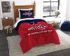 NHL Washington Capitals Twin Comforter Set