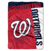 MLB Washington Nationals 60x80 Super Plush Throw Blanket
