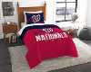 MLB Washington Nationals Twin Comforter Set