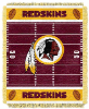 NFL Washington Redskins Baby Blanket