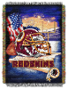 NFL Washington Redskins Home Field Advantage 48x60 Tapestry Throw