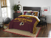 NFL Washington Redskins QUEEN Comforter and 2 Shams