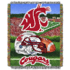 NCAA Washington State Cougars Home Field Advantage 48x60 Tapestry Throw