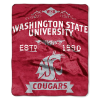NCAA Washington State Cougars 50x60 Raschel Throw Blanket