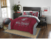 NCAA Washington State Cougars QUEEN Comforter and 2 Shams