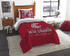 NCAA Washington State Cougars Twin Comforter Set