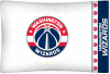 NBA Washington Wizards Micro Fiber Pillow Cases (set of 2)