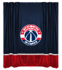 NBA Washington Wizards Shower Curtain