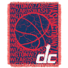 NBA Washington Wizards 48x60 Triple Woven Jacquard Throw