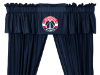 NBA Washington Wizards Valance - Locker Room Series