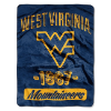 NCAA West Virginia Mountaineers 50x60 Micro Raschel Throw