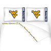 NCAA West Virginia Mountaineers Micro Fiber Bed Sheets