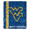 NCAA West Virginia Mountaineers Sherpa 50x60 Throw Blanket