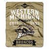 NCAA Western Michigan Broncos 50x60 Raschel Throw Blanket