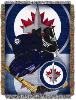 NHL Winnipeg Jets Home Ice Advantage 48x60 Tapestry Throw