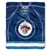 NHL Winnipeg Jets JERSEY 50x60 Raschel Throw
