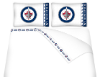 NHL Winnipeg Jets Micro Fiber Bed Sheets