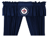 NHL Winnipeg Jets Valance - Locker Room Series