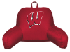 NCAA Wisconsin Badgers Bed Rest Pillow