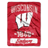 NCAA Wisconsin Badgers 50x60 Micro Raschel Throw