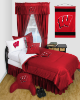 NCAA Wisconsin Badgers Comforter - Locker Room Series
