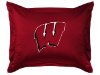 NCAA Wisconsin Badgers Pillow Sham - Locker Room Series