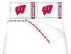 NCAA Wisconsin Badgers Micro Fiber Bed Sheets