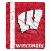 NCAA Wisconsin Badgers Sherpa 50x60 Throw Blanket