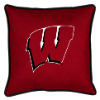NCAA Wisconsin Badgers Pillow - Sidelines Series