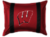NCAA Wisconsin Badgers Pillow Sham - Sidelines Series