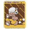 NCAA Wyoming Cowboys Baby Blanket