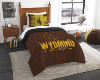 NCAA Wyoming Cowboys Twin Comforter Set