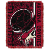 NHL Arizona Coyotes 48x60 Triple Woven Jacquard Throw